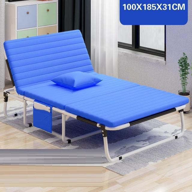 US $313.18 36% OFF|Mobilier Exterieur Mueble Silla Playa Sofa Cum Recliner  Chair Salon De Jardin Folding Bed Lit Outdoor Furniture Chaise Lounge-in ...