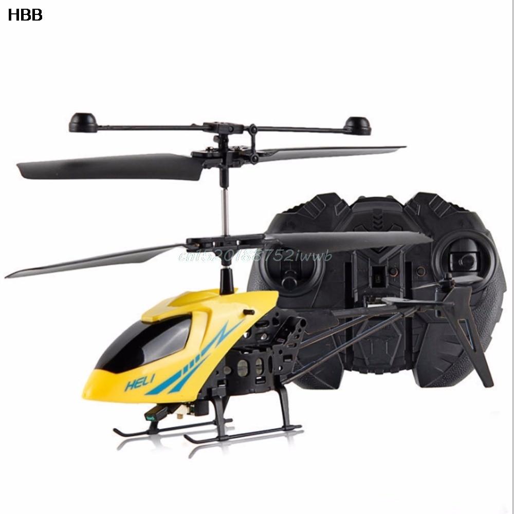 RC 2CH Mini helikopter Radio Afstandsbediening Vliegtuigen Micro 2 - Radiografisch bestuurbaar speelgoed