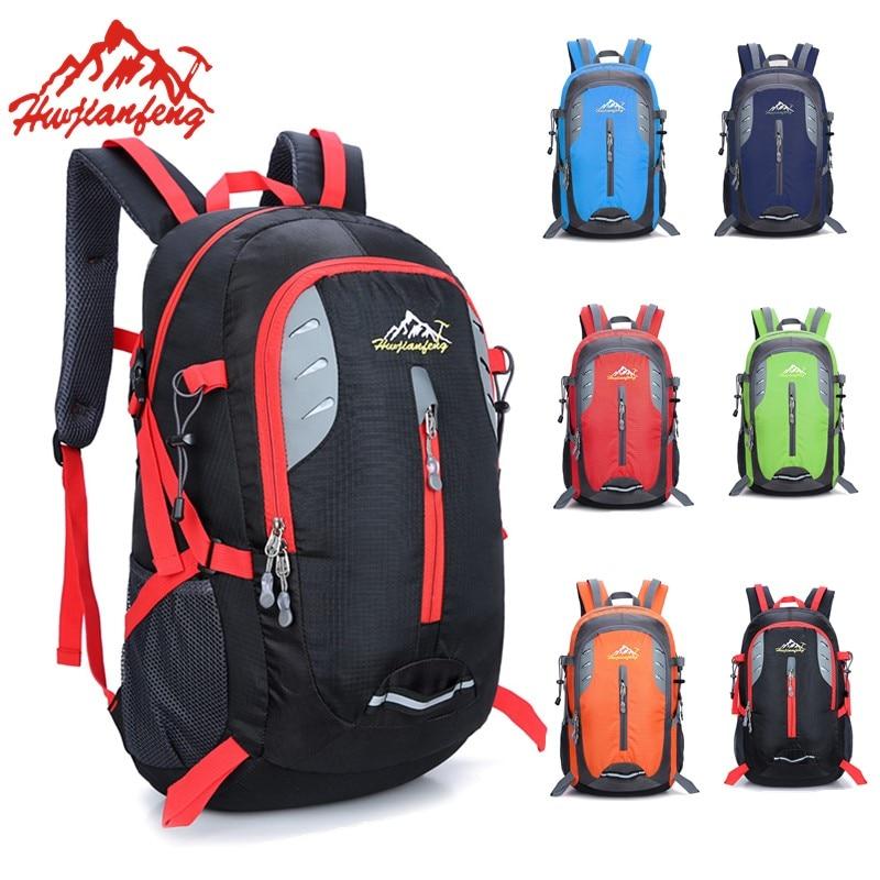 Outdoor Backpacks Waterproof Nylon Hiking Bag For Women Travel <font><b>Cycling</b></font> Bags Trekking Rucksack Bicycle Backpack