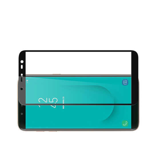 3D كامل غطاء الزجاج المقسى لسامسونج J2 J3 J4 J6 J7 J8 الزجاج واقي للشاشة
