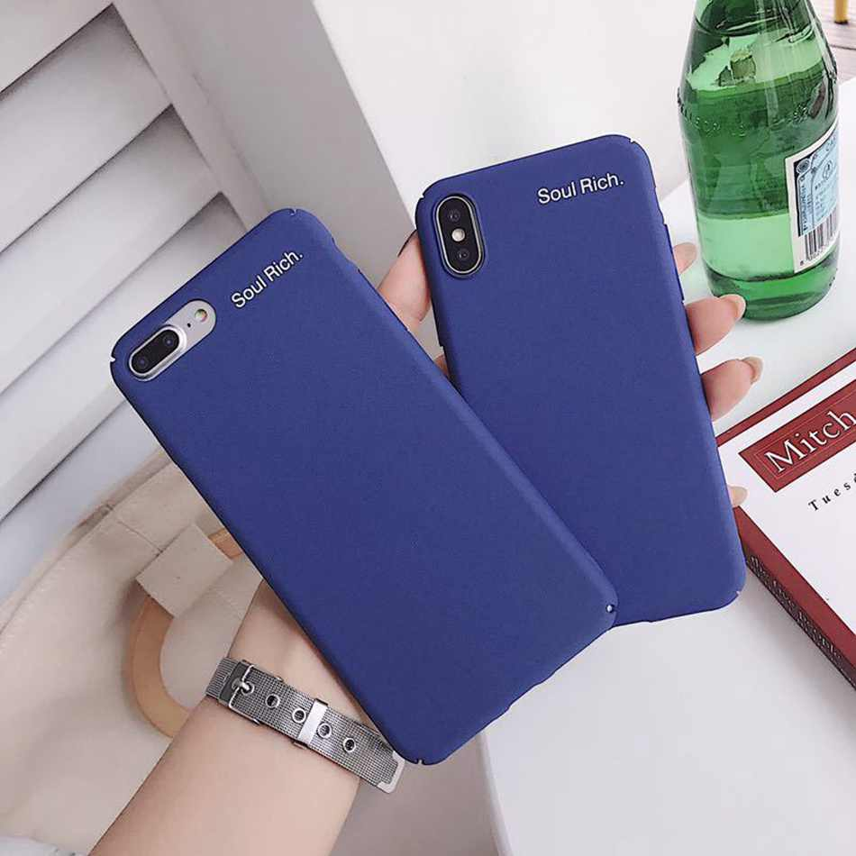 562ea8cf659afc For iPhone 7 Case Royal Blue Retro Green Phone Case For iPhone X XS 6 6s