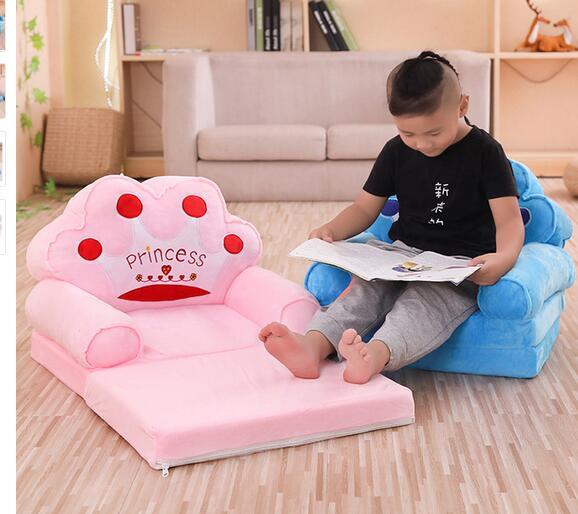Clever New European Childrens Sofa Small Sofa Seat Boy Girl Cute Single Tatami Lazy Baby Sofa Chair Home Furniture Furniture