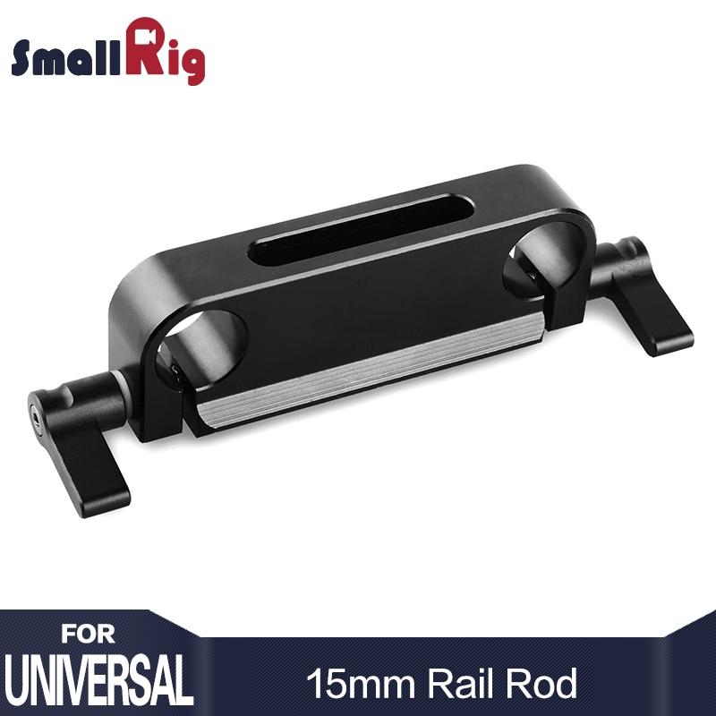 SmallRig Camera Rig Railblock 15mm Rod Clamp with Top Slide Nato Rail For Quick Release - 1175