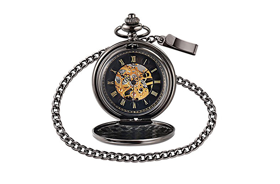 happy birthday mechanical pocket watch 950PX-5