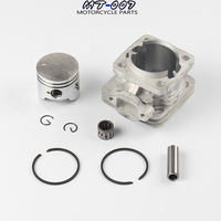 44mm Cyinder Piston Kit Set For 49cc 2 Stroke Engine Mini Moto Dirt ATV Quad Pocket