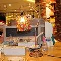 Nepal mão-frisado vestido de casamento criativo lâmpada simples Europeu rural retro ferro quarto lâmpada lâmpada de cabeceira cômoda