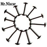 Mr Niscar 1 Set 12 Pcs New Novelty No Tie Shoelaces Elastic Silicone Leather Shoe Laces