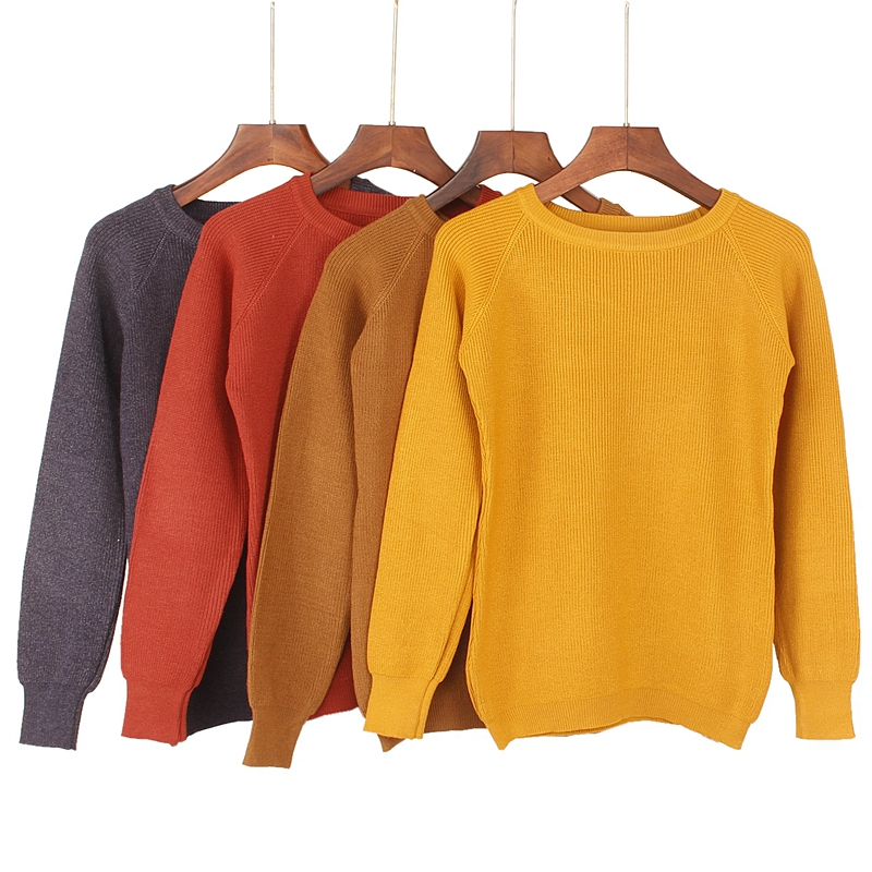High Quality Thick Warm Winter Women Sweater Fashion Knitted Soft Pullover Jumper Autumn Female Sweater Top