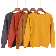 Thick Warm Knitted Soft Pullover
