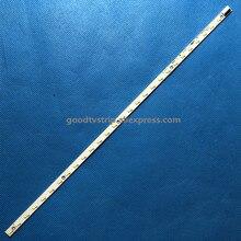 2 PCS LED strip V500H1 LS5 TLEM6 TLEM4 TREM6 TREM4 E117098 28 LEDs 315mm for LE50D8800 V500HJ1 LE1,used part