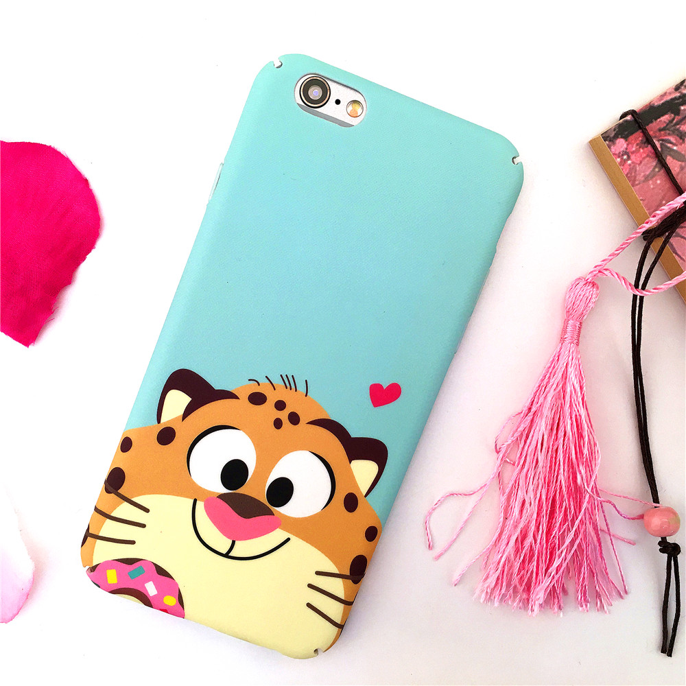 funny mobile phone bag For iphone 7 case iphone 6 cute luxury fashion pattern for iphone 6s cover iphone7plus full protect coque