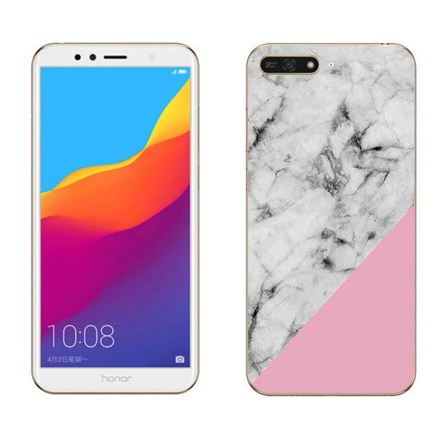 Suave TPU para Huawei Y6 Pro Y7 primer Y9 2018 2019 caja del teléfono para el Ascend Y5 II 2 Nova 2 4 disfrutar de 9 Tigre pintado por Honor Magic 2