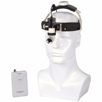 Dental Gynecology Surgery 5W KD202A 6 LED Medical Surgical Headlamp Adjustable High Intensity Operation Chargeable Headlight