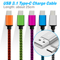 BrankBass 25CM USB 3.1 Type C USB C cable USB Data Sync Charge Cable for Macbook For Xiaomi 4c/NEXUS 5X 6P