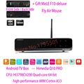 HiMedia Q10 PRO 3D 4K UltraHD Smart Android 5.1 TV Box 2GB/ 16GB HDMI 2.0 Bluetooth 4.0 Dual WiFi & HDD Bay DTS DOLBY Play Store