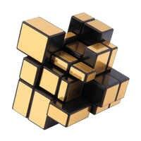 Magie Cube NEUE 3x3x3 Kompakte und tragbare Spiegel Blöcke Silber Shiny Puzzle Denkaufgabe IQ Kid lustige Weltweit Großes geschenk