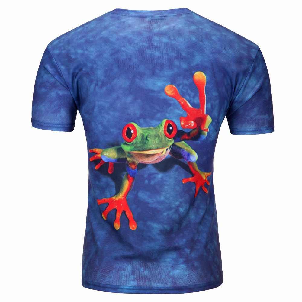 2019 Горячая Летняя мужская 3D футболка, Новая креативная футболка с рисунком для мужчин, футболка с короткими рукавами с 3D принтом, Мужская/женская одежда