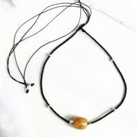 100 Natural Stone Gold Rutilated Quartz Golden Hair Crystal 925 Sterling Silver 2 Way Necklace Bracelet