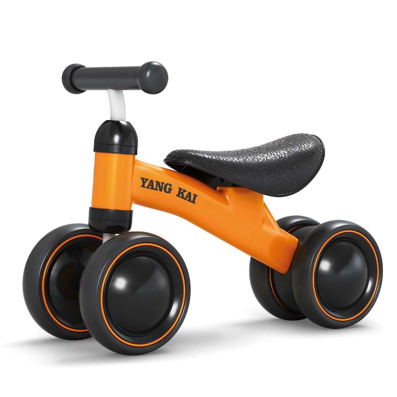 2018 Trois Roue Enfants Draisienne Scooter Trotteur Bébé 1-3ans Scooter Aucun Pied Pédale De Conduite Vélo Cadeau Pour Enfants