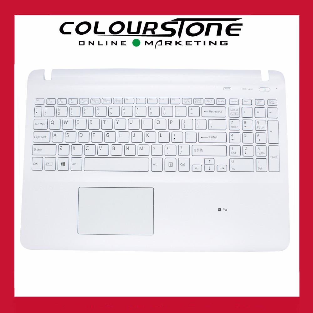 New original US white keyboard for SONY SVF151 WITH Touchpad and Backlit  Keyboard new and original laptop swiss qwerty replacement keyboard for sony vpc z1 vpcz1 pcg 31113t 31112t 31111t with backlit