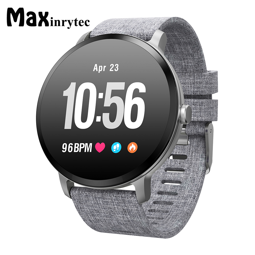 Maxinrytec V11 Smart watch IP67 waterproof Tempered glass Activity Fitness tracker Heart rate monitor BRIM Men Women SmartwatchMaxinrytec V11 Smart watch IP67 waterproof Tempered glass Activity Fitness tracker Heart rate monitor BRIM Men Women Smartwatch