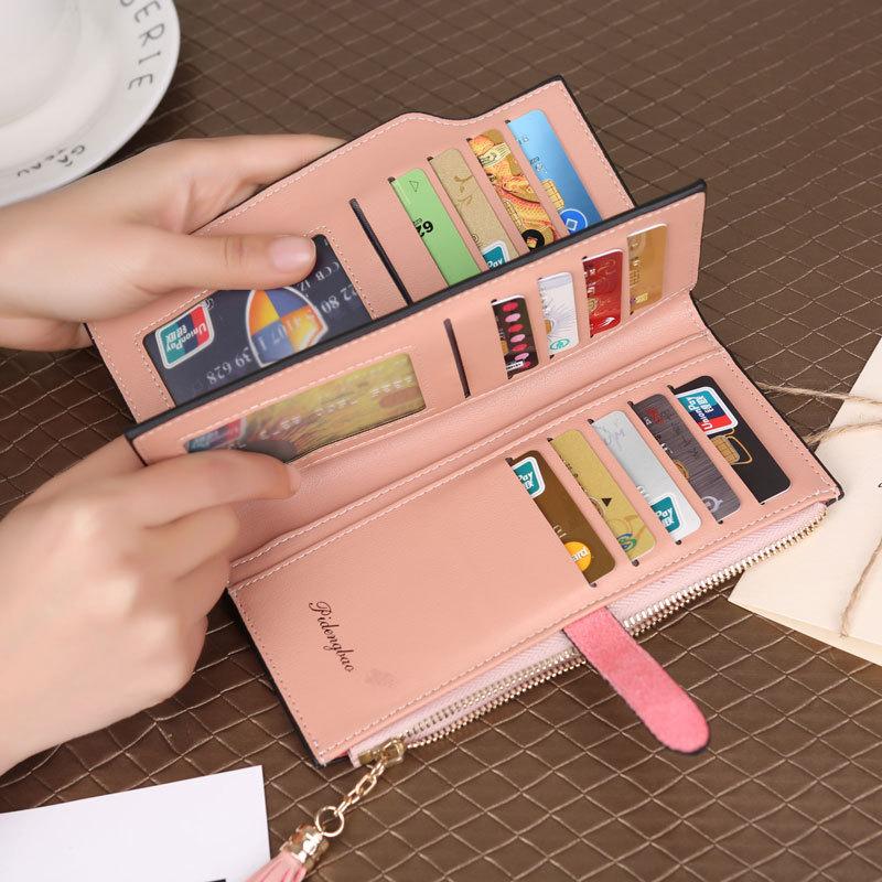 Women's Wallet womens wallets and purses carteira feminina carteras mujer porte monnaie femme portefeuille portfel damski ladies