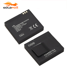 GOLDFOX 1pc Quality 1010mAh Rechargeable Li-ion Battery for Xiaomi Yi XiaoYi Sports Action Camera DV Cam Replacement Battery