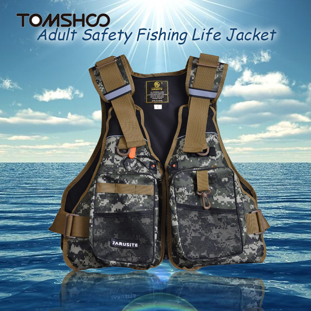 Swimming Life Vest Men Flotation Adult Life Jacket Waistcoat Survival Vest Swimwear Water Sport Drifting Boating Safety Tools