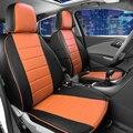 Asientos personalizados para Ford Escape/Kuga cubierta de asiento de coche accesorios interiores conjunto completo completo de protección del asiento de coche cubre negro