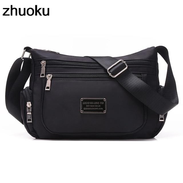 Nylon Beach Messenger Bag Girls Shoulder Bags Handbags Women Famous Brand  Crossbody Bag Solid Bolsa Feminina Purse Sac Femme