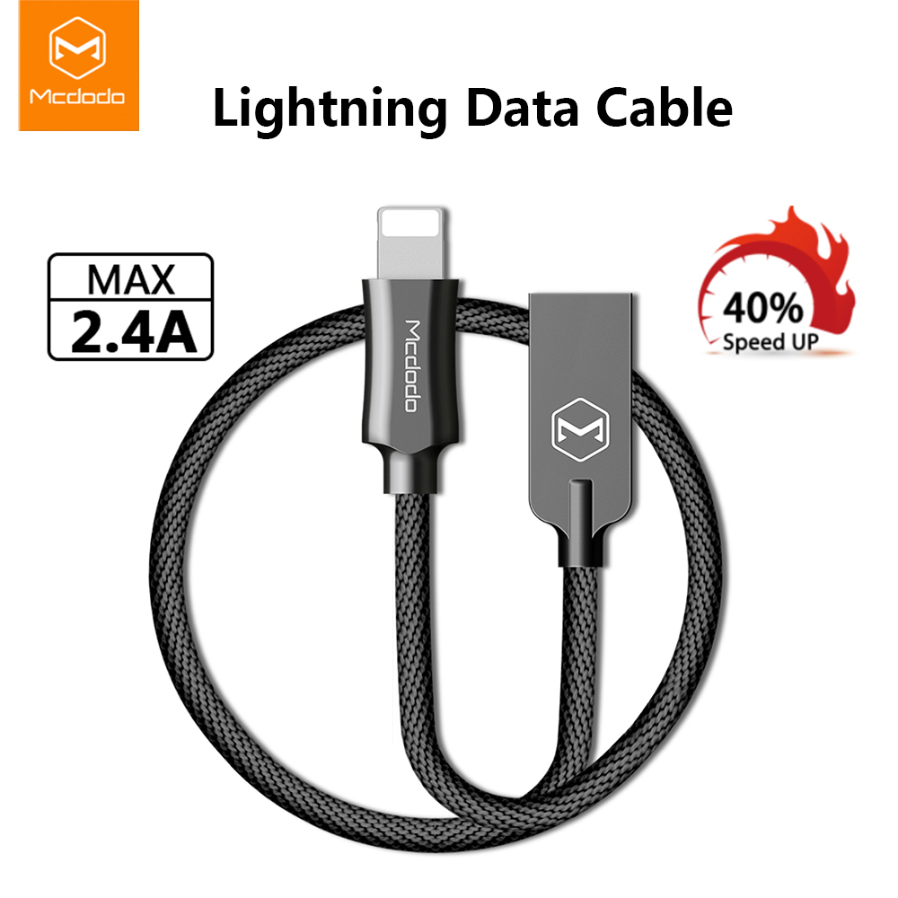 Mcdodo iPhone XS MAX XR X 8 7 6S USB Lightning Charging Charger Cable Data Cord