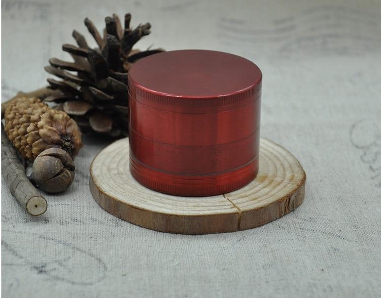 New grinding hand smoke detector 56 mm in diameter zinc alloy 4 layer grind smoke detector smoke tobacco grinder