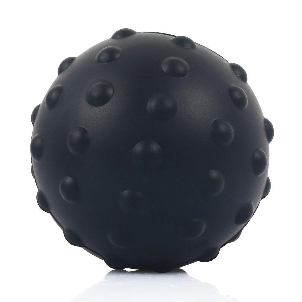 Массажный мяч для мышц с широким давлением, физический упражнения, прочный Массажный мяч из искусственной кожи, самоочищающийся, Йога массажный мяч, булыжник