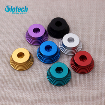 Glotech 100pcs colorful Metal ego stand Electronic Cigarette Atomizer VIVI/MT4 metal base ego stand base ecig holder wholesales