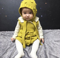 Baby Rompers Children S Garment Knitting Crochet Handmade Coarse Hubble Bubble Romper Girls Boys Jumpsuits