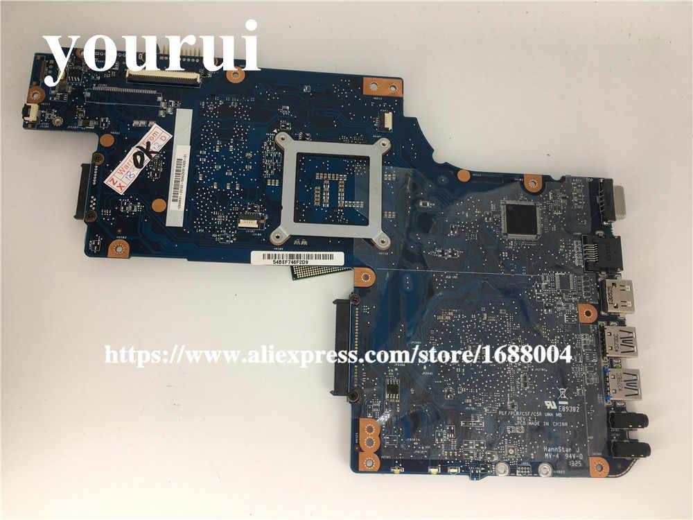 ブランド新 H000052730 ノートパソコンのマザーボード東芝衛星 C850 C855 L850 L855 C850-1HE C850-1CW HM70 送料 cpu 動作