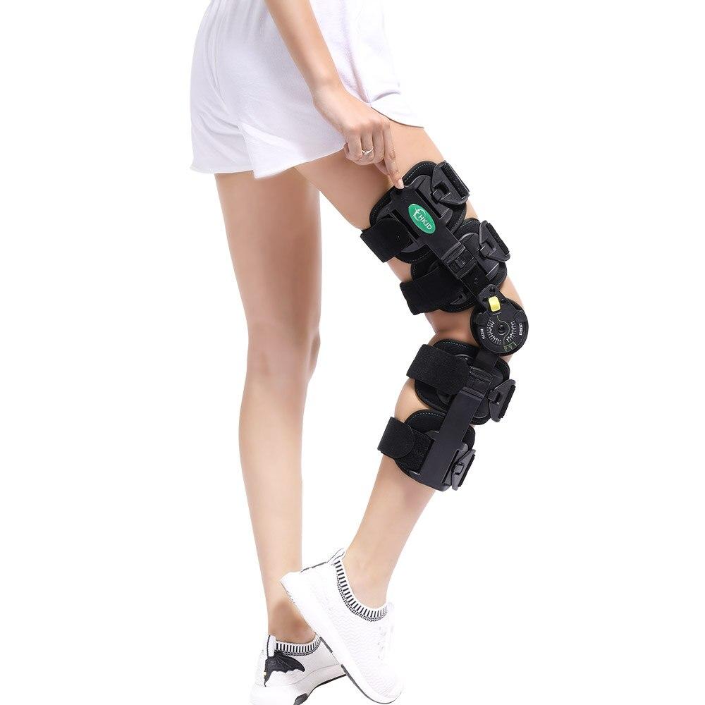 Бесплатная Размеры навесной Встроенная память до колена послеоперационной иммобилизации для синтетической коленного сустава нестабильно...
