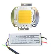 30 Вт 45mil полный спектр белого 380~ 730nm светодиодный светильник, излучающий диоды+ 30 Вт водонепроницаемый AC Светодиодный светильник для растений