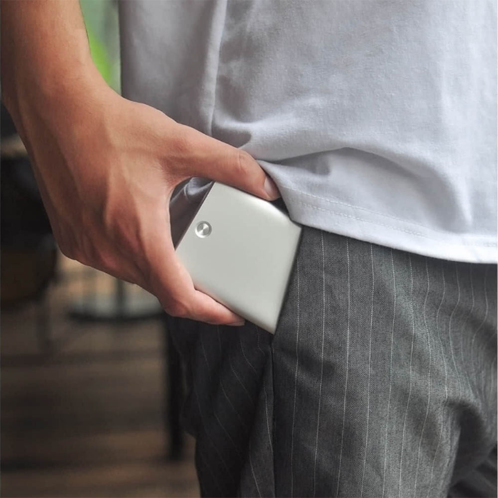 Taschen Xiaomi Miiiw Karte Fall Automatische Pop Up Box Abdeckung Karte Halter Mijia Metall Brieftasche Id Portable Storage Bank Kreditkarte Karte Videospiele