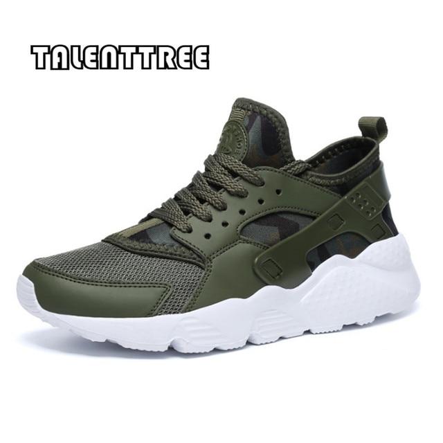 Мужская обувь 2018 Новое поступление Модные дышащие весна/Осенняя повседневная обувь для Для мужчин шнуровка плюс размер 35-47 удобные для взрослых