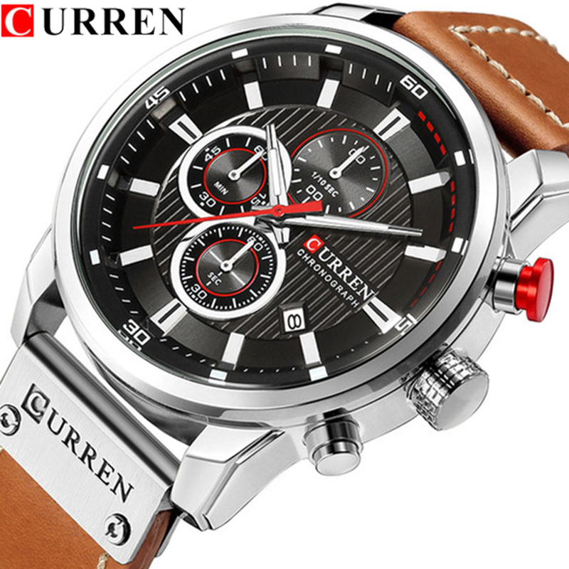 Relogio Masculino Fashion Casual CURREN Watches Men Quartz Top Brand Analog Military Male Watch Men Sports Army Waterproof Watch curren watches men quartz top brand analog military male watch men fashion casual sports army watch waterproof relogio masculino