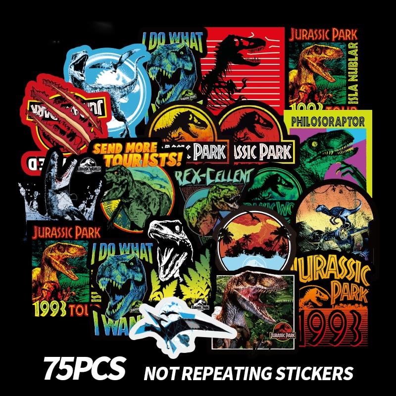 Jurassic World sticker for skateboard luggage laptop tumblers car c