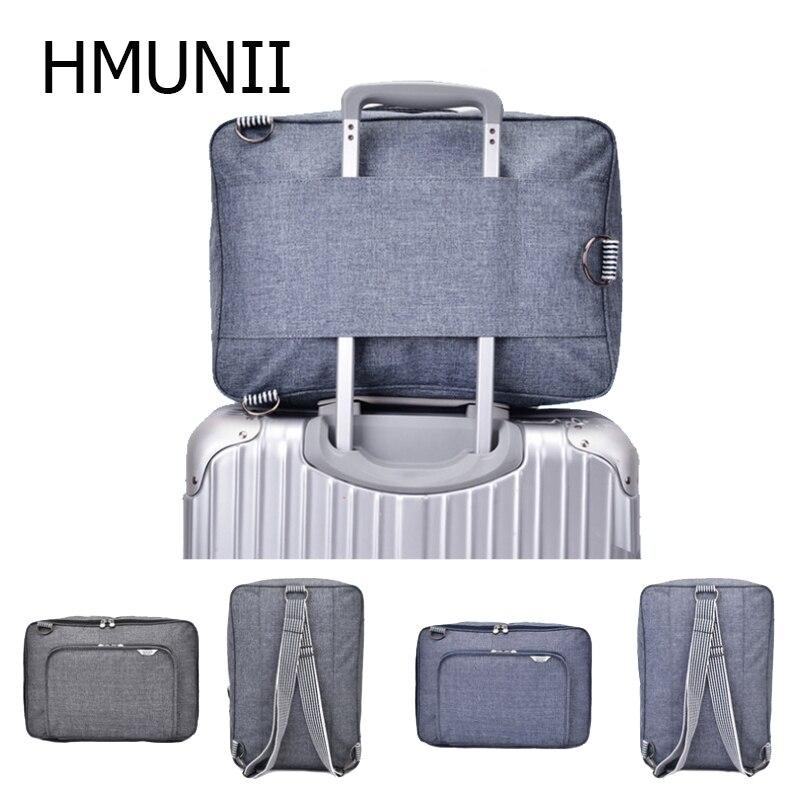 HMUNII Multifunctional Fashion Storage Bag Men And Women Couples Bags Large Capacity Portable Trolley Storage Case Travel Bag