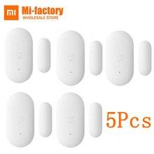 5PCS Original Intelligent Mini Mijia Xiaomi MI Door Window Sensor for Xiaomi Suite Device Smart Home Kits Remote Alarm System