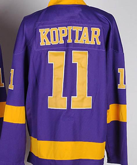 sports shoes d3520 c41ba Los Angeles Kings Hockey Jerseys #11 Anze Kopitar Jersey ...