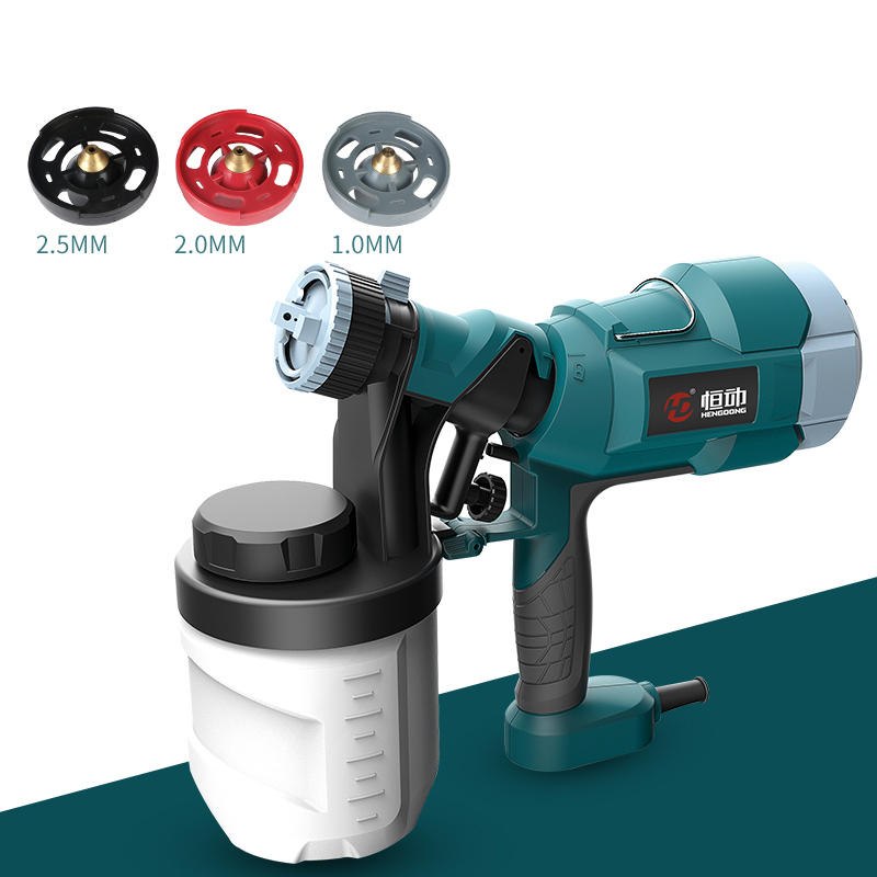 цена на 220V Electric Spray Gun Paint Sprayer Paint spraying machine with 1/2/2.5mm nozzle 500W Y