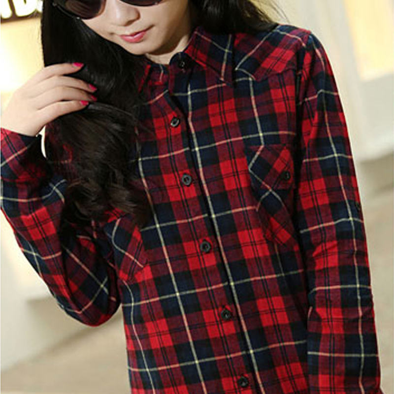 Red and black shirts for womens shirts rock Womens red tartan plaid shirt