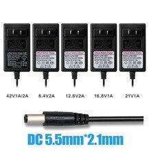 4,2 V 3A 8,4 V 12,6 V 2A 16,8 V 21 V 42 V 1A интеллектуальное литий-ионное зарядное устройство для литий-полимерного аккумулятора зарядное устройство коробка хорошего качества
