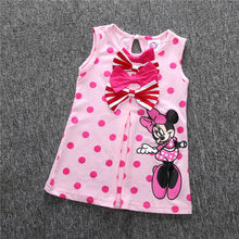 Fashion Children Baby Girl Summer Clothes Sleeveless 6 Month To 3 Years  Toddler Girl Dress Kid adb738aa65be