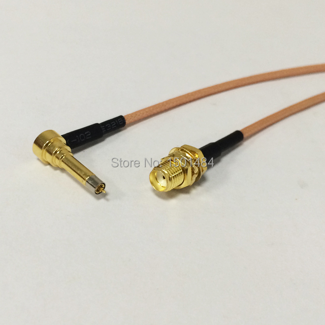 """imágenes para 3G antena cable MS156 Ángulo Recto a hembra SMA tuerca pigtailRG316 Nave Al Por Mayor Fast 15 CM 6 """"Adaptador"""